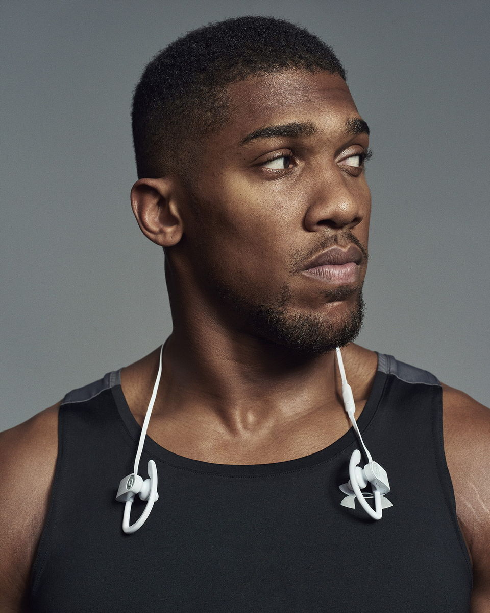 Cover for Anthony Joshua X Beats by Dre